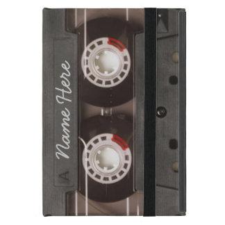Vintage 80's Tape Cassette Monogram iPad Mini Cover
