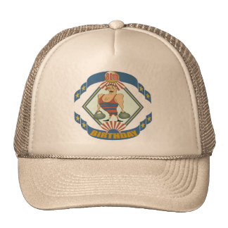 Vintage 80th Birthday Gifts Cap