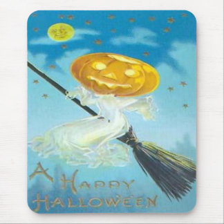 "Vintage ""A Happy Halloween"" Mousepad"