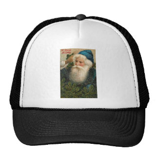 Vintage A Merry Christmas Trucker Hat