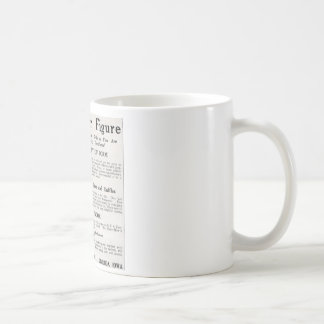 "Vintage ""About Your Figure"" Mug"