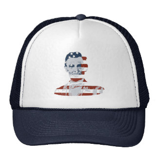 Vintage Abraham Lincoln Independence Day Cap