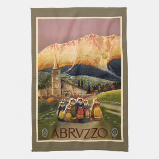 Vintage Abrvzzo Italy hand towel