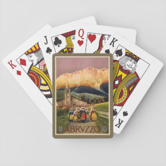 Vintage Abrvzzo Italy playing cards