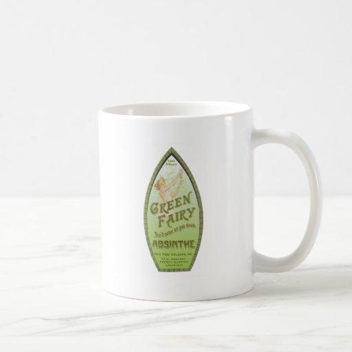 Vintage Absinthe Green Fairy Coffee Mug
