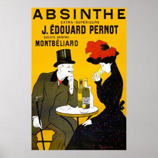 Vintage Absinthe Poster