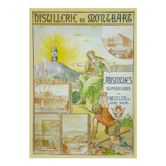 Vintage Absinthes Superieures Print