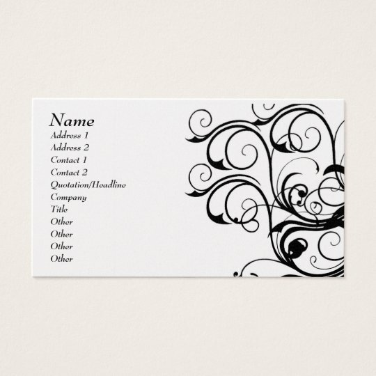 Vintage Abstract Template Card - Customised