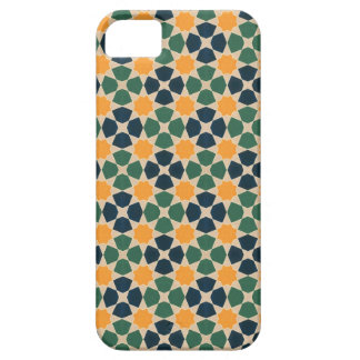 Vintage abstrakte Steppdecken-inspiriertes Fliesen iPhone 5 Case