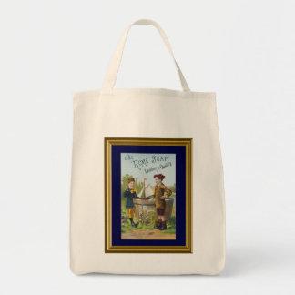 Vintage Ad Acme Soap Tote Bag