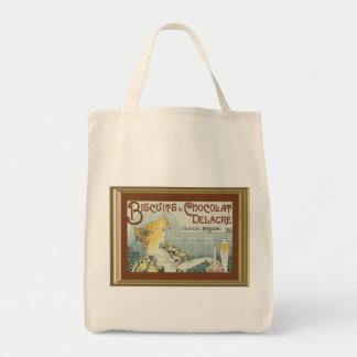 Vintage Ad Biscuits Chocolat Delacre Tote Bag