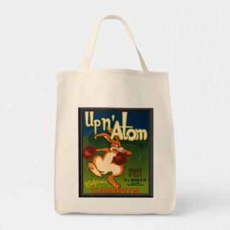Vintage Ad Carrots Tote Bag