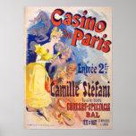 VINTAGE AD-CASINO DE PARIS-PRINT