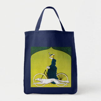 Vintage Ad for Victoria Bicycles Tote Bag