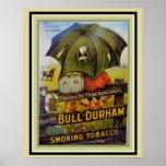 Vintage Ad Poster- Bull Durham Smoking Tobacco Poster