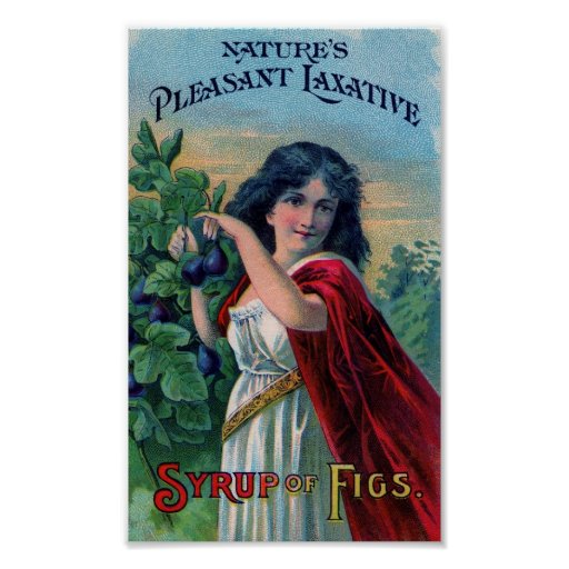Vintage Ad Syrup of Figs Poster Art Print