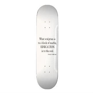 Vintage Addison Education Soul Quote Template 19.7 Cm Skateboard Deck