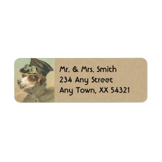 Vintage Address Labels - Small