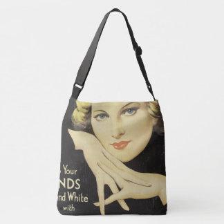 Vintage Advertisement Portrait Woman Blond Hair Tote Bag