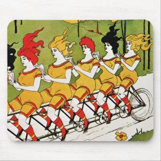 Vintage Advertising - Bicycle Bearings Mousepad
