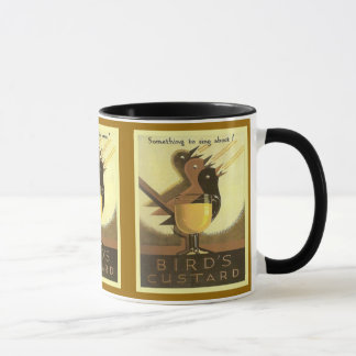Vintage advertising, Bird's Custard Mug
