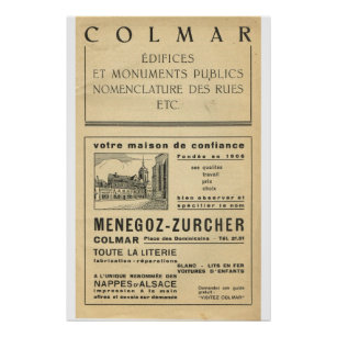 Colmar Posters Prints Zazzle Uk