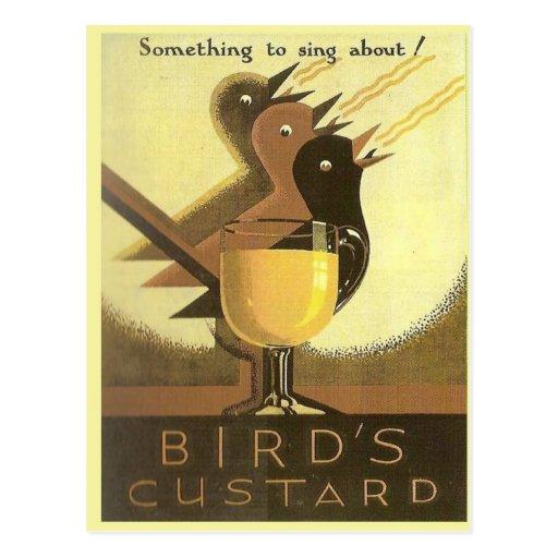 Vintage advertising, Custard Postcard