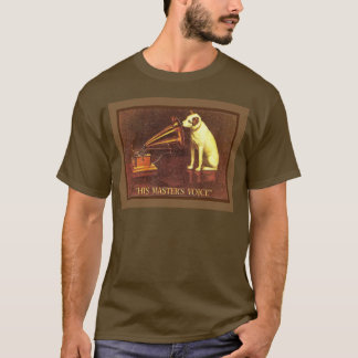 VIntage advertising, His masters Voice T-Shirt
