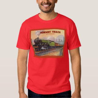 Vintage Advertising, Hornby Train sets Tshirt