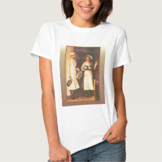 Vintage advertising images, early 20th century t-shirt