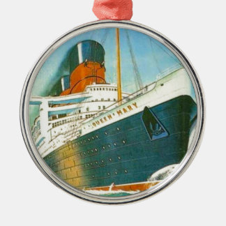 Vintage advertising, RMS Queen Mary Christmas Ornament