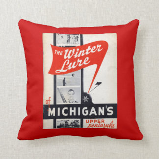 Vintage advertising, Winter Lure, Michigans Cushion