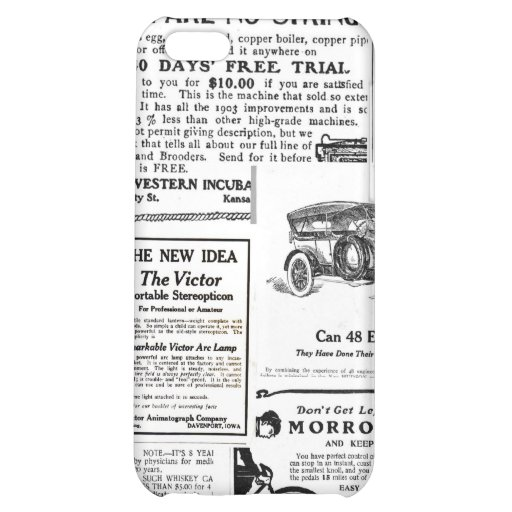 Vintage Advertisments iPhone 5C Cover
