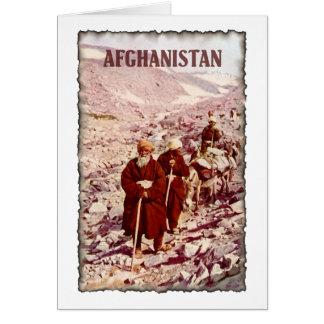 Vintage Afghanistan Card