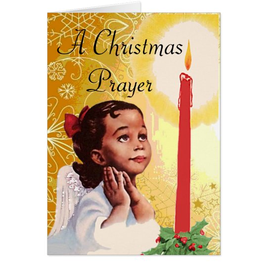 Vintage african american christmas card - African american christmas images ...
