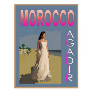 Vintage Agadir Postcard