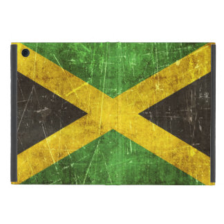 Vintage Aged and Scratched Flag of Jamaica Cover For iPad Mini