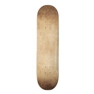 Vintage Aged Parchment Paper Template Blank Skate Board Decks