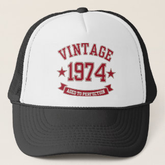 Vintage Aged to Perfection 1974 Trucker Hat