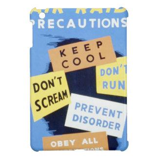 Vintage Air Raid Precautions WPA Poster Cover For The iPad Mini