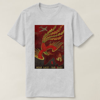 Vintage Air Travel - Far East T-Shirt