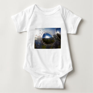 Vintage Aircraft Detail Baby Bodysuit