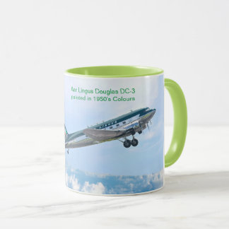 Vintage Aircraft for White Classic Mug