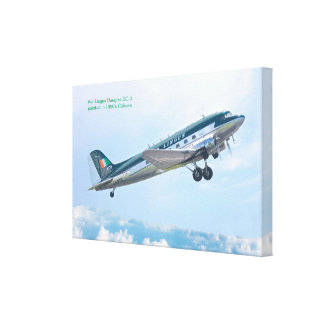 Vintage Aircraft for Wrapped canvas