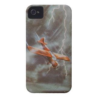 Vintage Aircraft iPhon 4/4S Case-Mate Barely There Case-Mate iPhone 4 Case