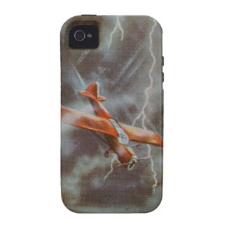 Vintage Aircraft iPhone 4 Case-Mate Tough iPhone 4/4S Covers