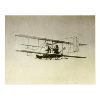 Vintage aircraft postcard