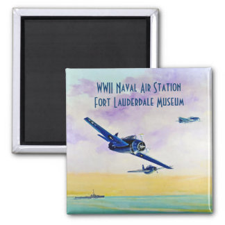 Vintage Aircraft - Save the Date Magnet