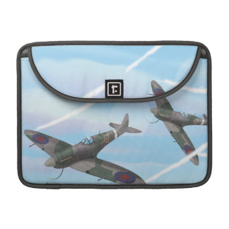 Vintage Aircraft Sleeve For MacBooks