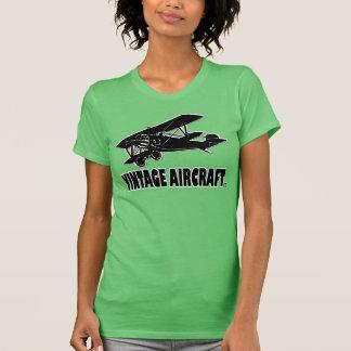 Vintage Aircraft Transport Designer T-Shirt Cloth